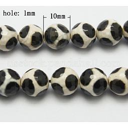 Tibetan Style dZi Beads US-G-H1453-1
