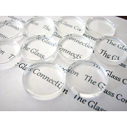 Transparent Glass Cabochons US-GGLA-S602-1