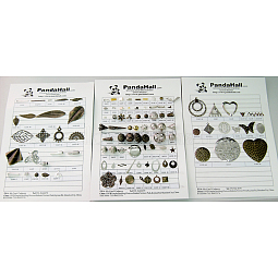Free Jewelry Findings Sample Cards US-JFSC