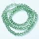 Electroplate Glass Beads StrandsUS-EGLA-A034-T6mm-A15-2
