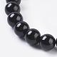 Natural Tourmaline Beads StrandsUS-G-G099-6mm-11-3