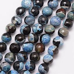 Natural Fire Agate Bead Strands US-G-K166-06F-10mm-05