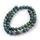 Natural African Turquoise(Jasper) Beads StrandsUS-TURQ-G037-8mm-2