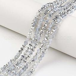 Electroplate Glass Beads Strands US-EGLA-A034-J10mm-M05