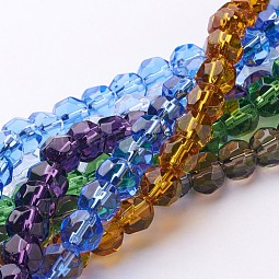 Glass Beads Strands US-GF8MM