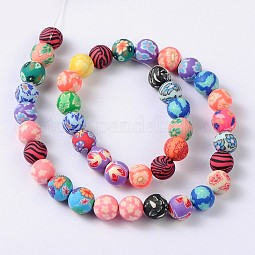 Handmade Polymer Clay Beads US-FIMO-10D-3