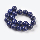 Natural Lapis Lazuli Beads StrandsUS-G-G087-10mm-2