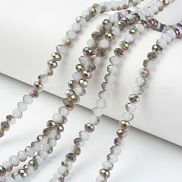 Electroplate Glass Beads Strands US-EGLA-A034-J10mm-R05