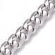304 Stainless Steel Cuban Link ChainsUS-CHS-L020-023P-1