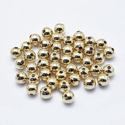 Brass BeadsUS-KK-G331-52G-5mm-NF-1