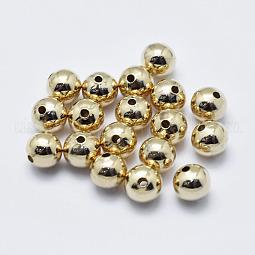Brass Beads US-KK-G331-52G-6mm-NF