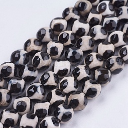 Natural Agate Beads Strands US-G-Q685-8mm
