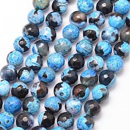 Natural Fire Agate Bead Strands US-G-K166-06F-6mm-02