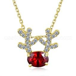 Zinc Alloy Pendant Necklaces US-NJEW-BB31529-A