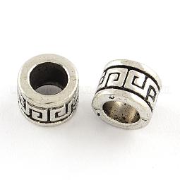 Tibetan Style Alloy Beads US-TIBEB-Q060-026-FF