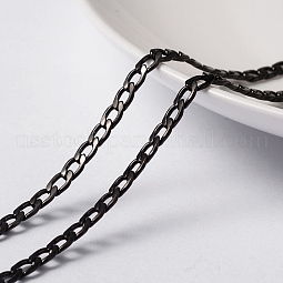 304 Stainless Steel Twisted Chain Curb Chains US-CHS-H007-29B