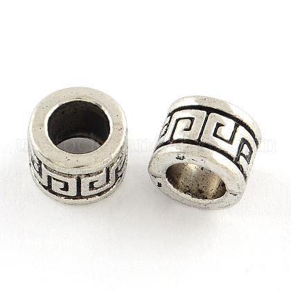Tibetan Style Alloy BeadsUS-TIBEB-Q060-026-FF-1
