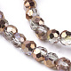 Electroplate Glass Beads StrandsUS-EGLA-J042-4mm-H03-3
