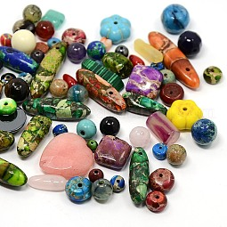 Natural & Synthetic Gemstone Beads US-G-X0001