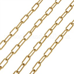 304 Stainless Steel Paperclip Chains US-YS-TAC0003-02G