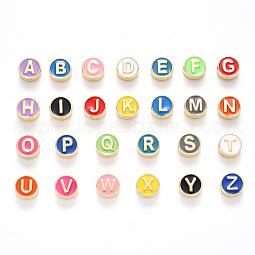 Alloy Enamel Beads US-ENAM-YW0001-23-RS