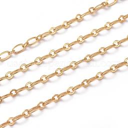 Brass Figaro Chains US-CHC-G005-15G